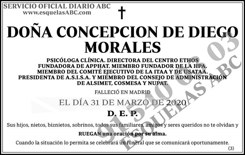 Concepción de Diego Morales