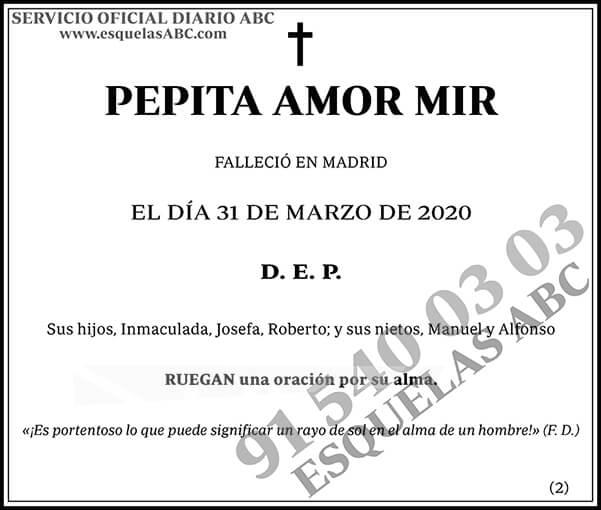 Pepita Amor Mir