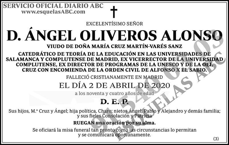 Ángel Oliveros Alonso
