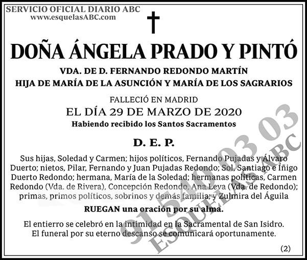 Ángela Prado y Pintó