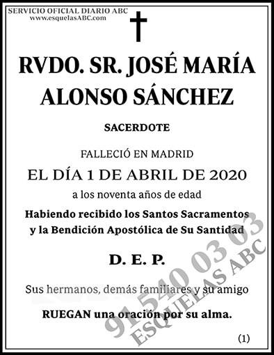 José María Alonso Sánchez