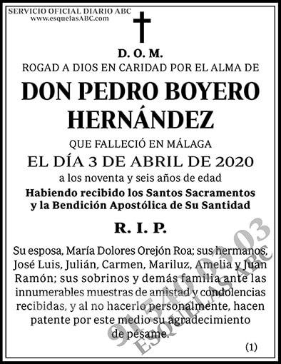 Pedro Boyero Hernández