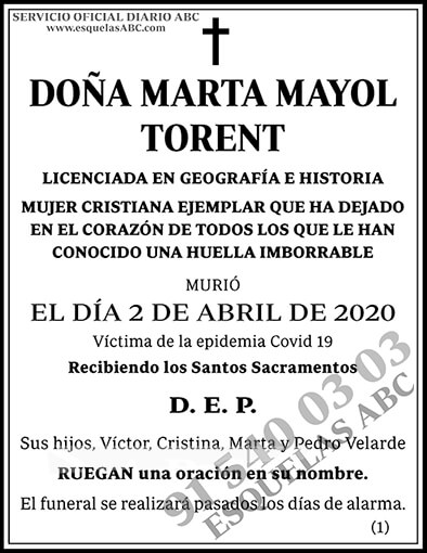 Marta Mayol Torent