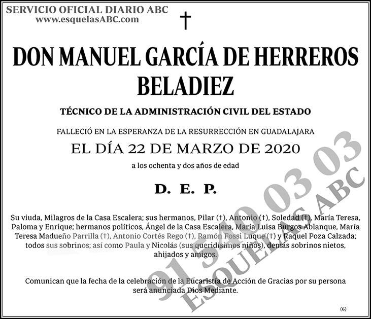 Manuel García de Herreros Beladiez