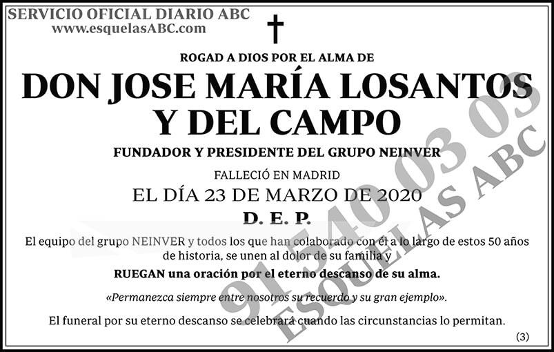 Jose María Losantos y del Campo