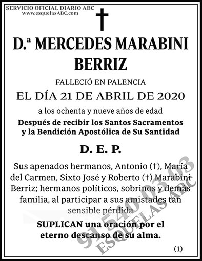 Mercedes Marabini Berriz
