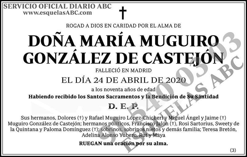 María Muguiro González de Castejón