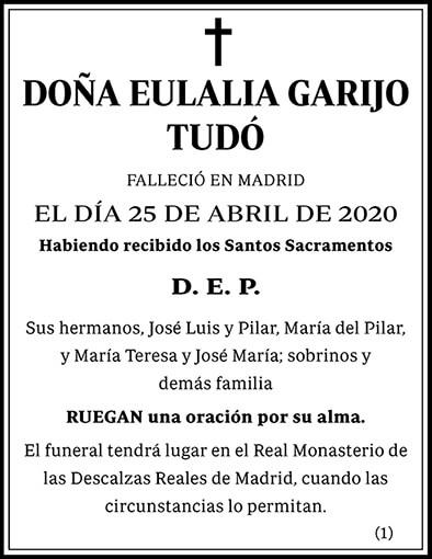 Eulalia Garijo Tudó