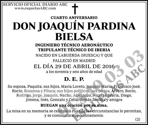 Joaquín Pardina Bielsa