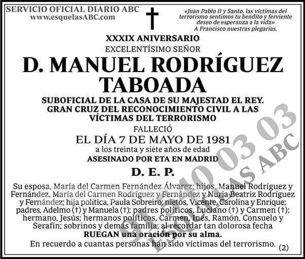 Manuel Rodríguez Taboada