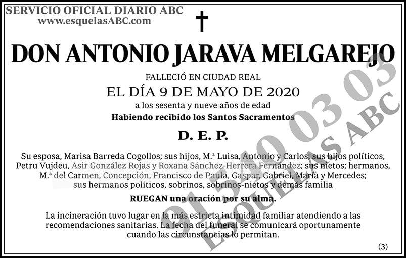 Antonio Jarava Melgarejo