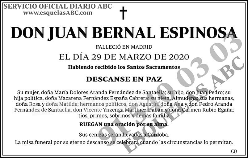 Juan Bernal Espinosa