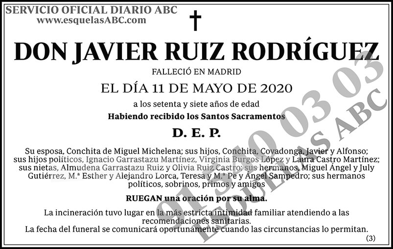 Javier Ruiz Rodríguez