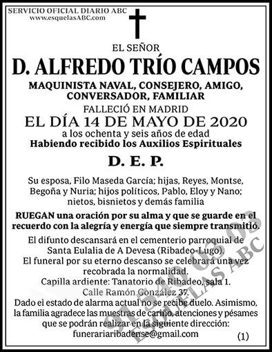 Alfredo Trío Campos
