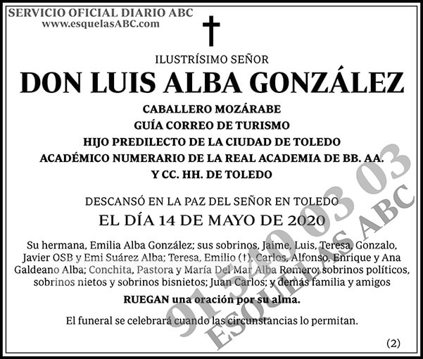 Luis Alba González