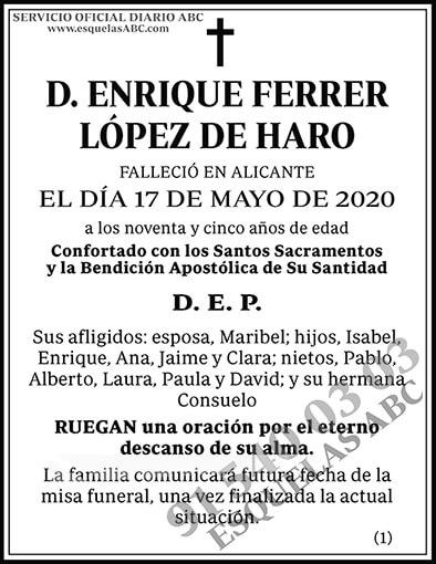 Enrique Ferrer López de Haro
