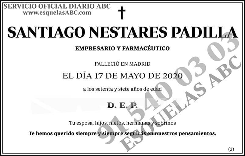 Santiago Nestares Padilla