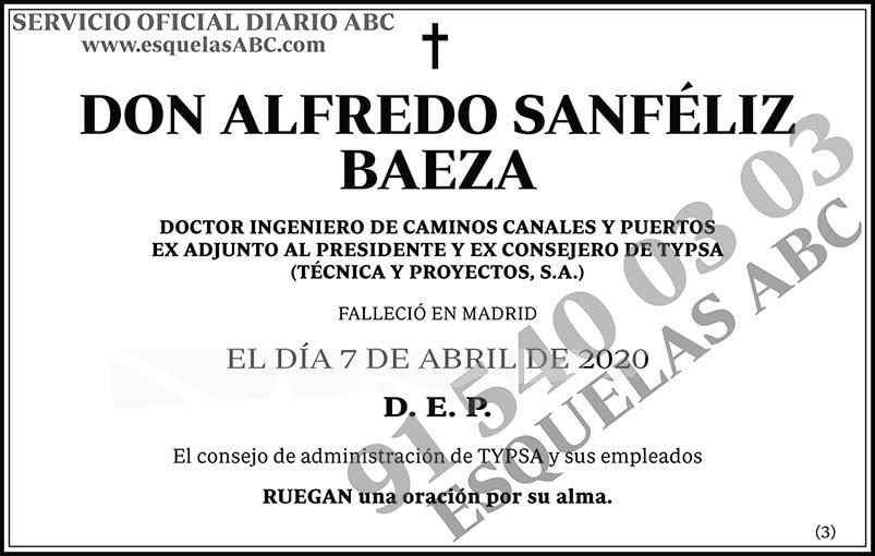 Alfredo Sanféliz Baeza