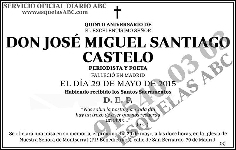 José Miguel Santiago Castelo