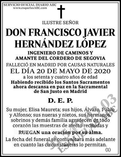 Francisco Javier Hernñandez López