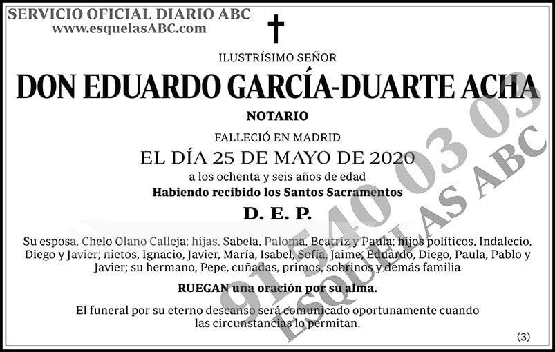 Eduardo García-Duarte Acha