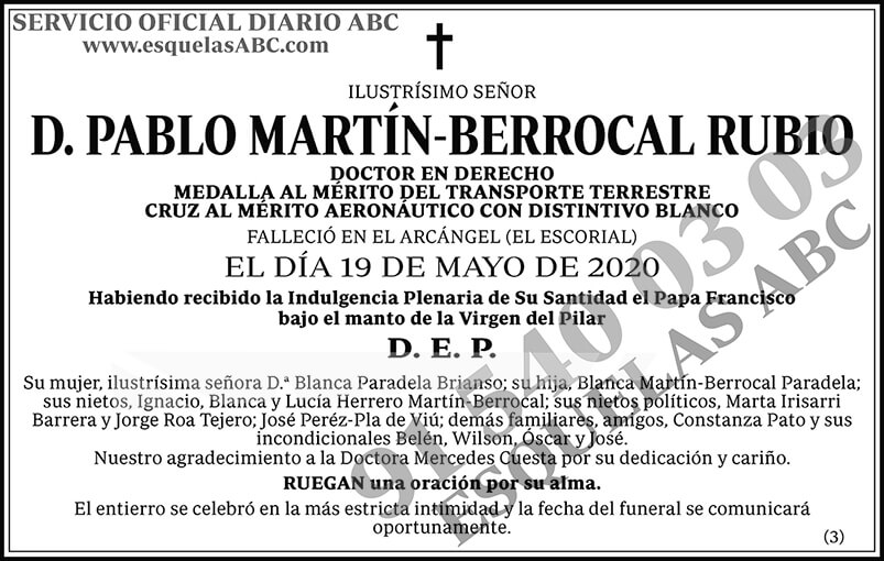 Pablo Martín-Berrocal Rubio