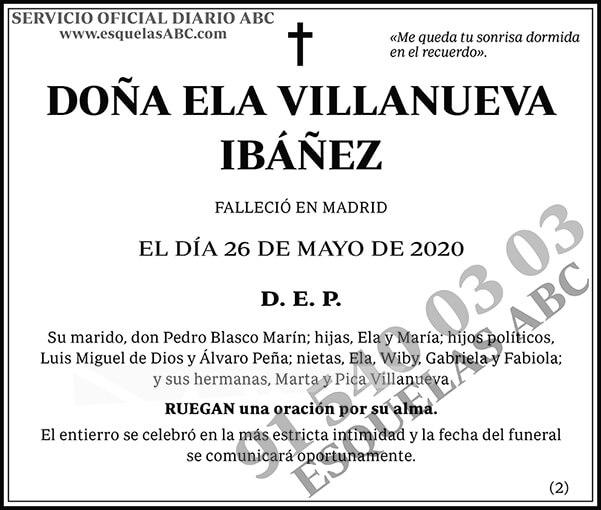 Ela Villanueva Ibáñez