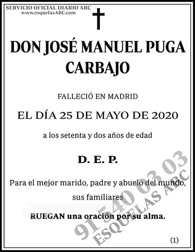 José Manuel Puga Carbajo