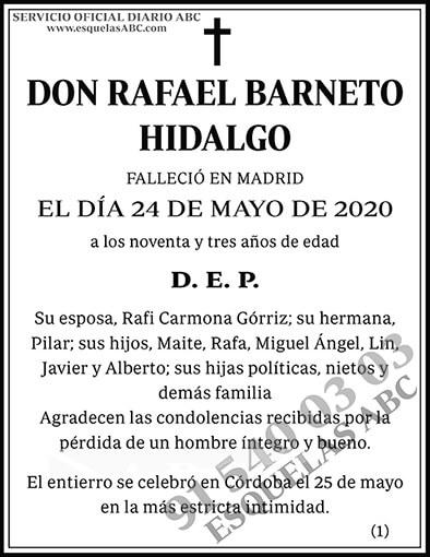 Rafael Barneto Hidalgo