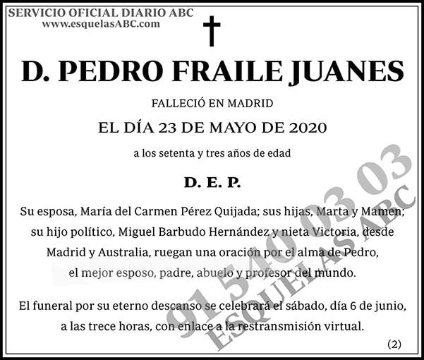 Pedro Fraile Juanes