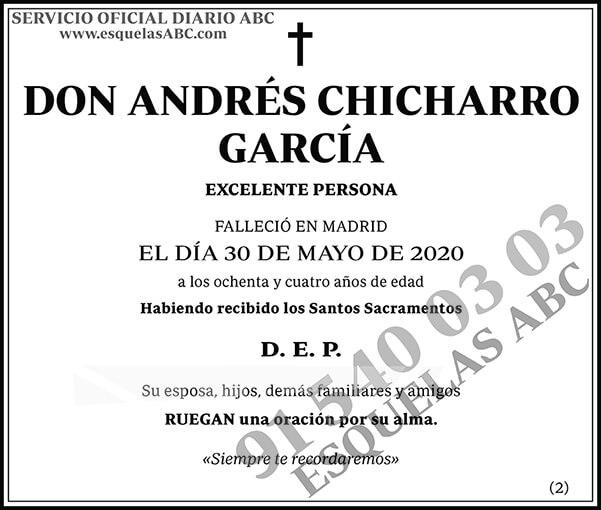 Andrés Chicharro García