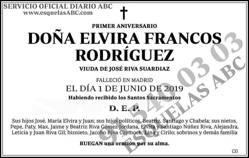 Elvira Francos Rodríguez