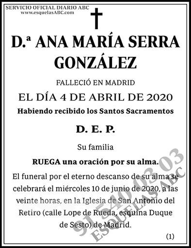 Ana María Serra González