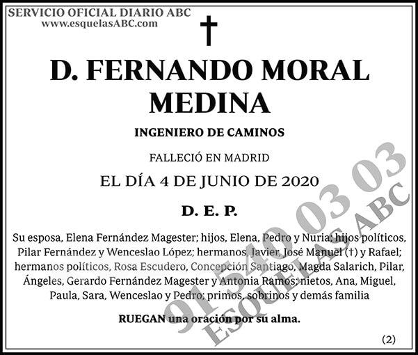 Fernando Moral Medina