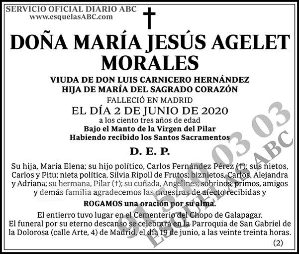 María Jesús Agelet Morales