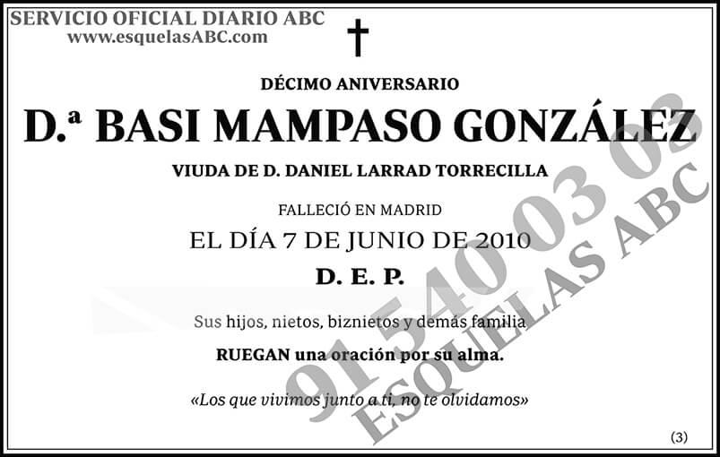Basi Mampaso González