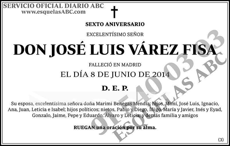 José Luis Várez Fisa