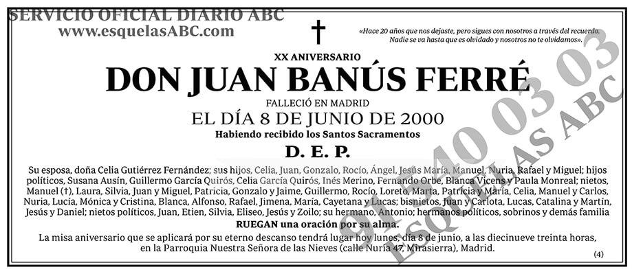 Juan Banús Ferré