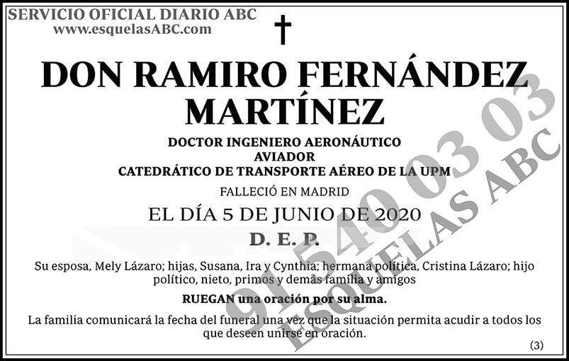 Ramiro Fernández Martínez