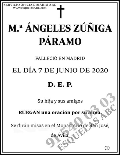 Ángeles Zúñiga Páramo