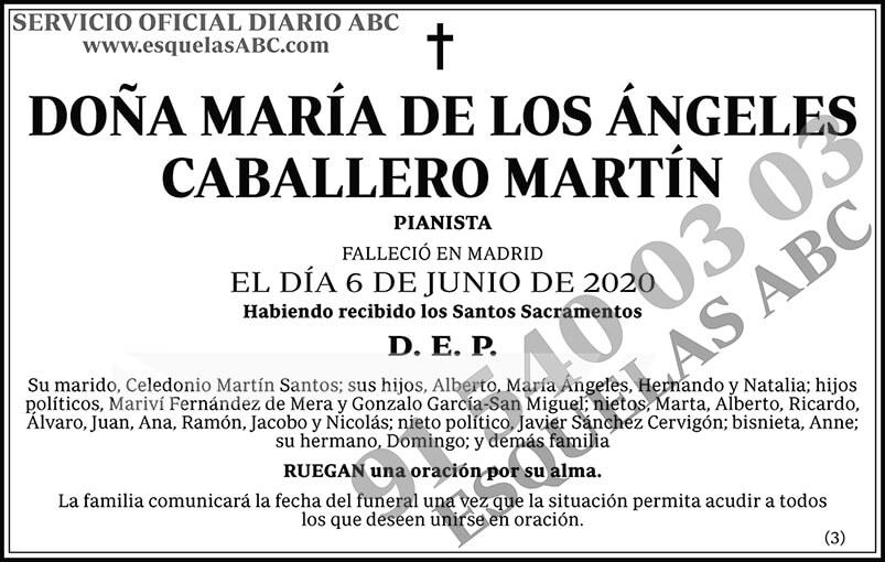 María de los Ángeles Caballero Martín