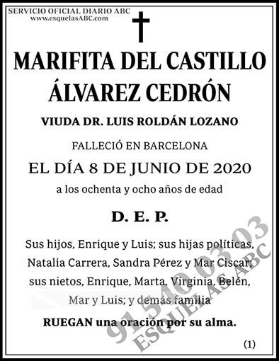 Marifita del Castillo Álvarez Cedrón