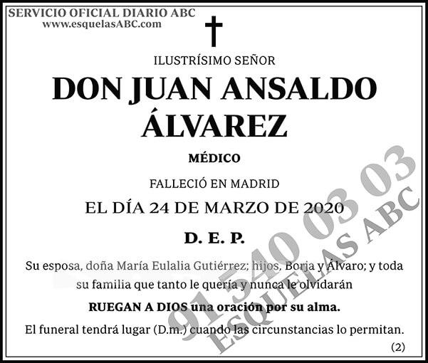 Juan Ansaldo Álvarez