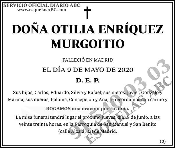 Otilia Enríquez Murgoitio