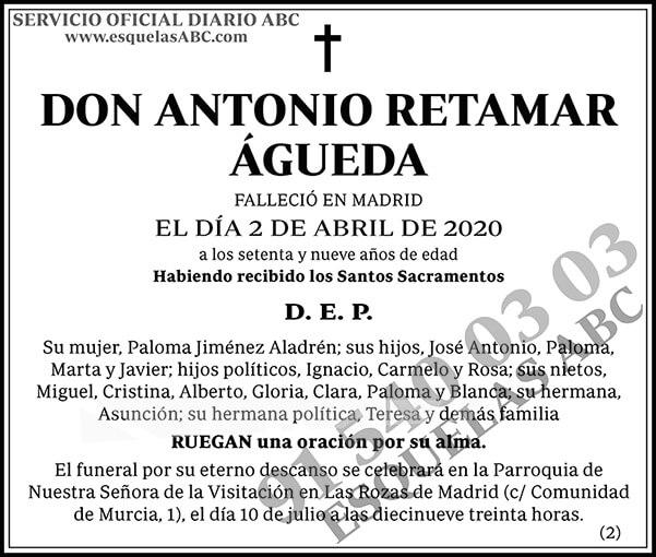 Antonio Retamar Águeda