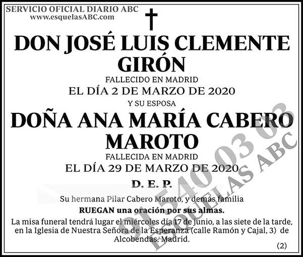 José Luis Clemente Girón