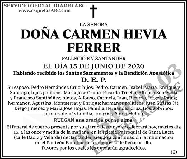 Carmen Hevia Ferrer