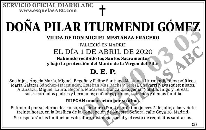 Pilar Iturmendi Gómez