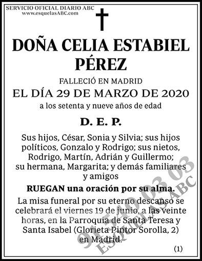 Celia Estabiel Pérez