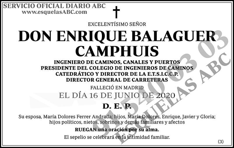 Enrique Balaguer Camphuis